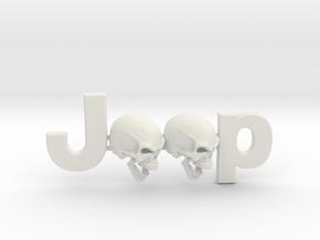 #CuzitsCustom Screaming Skulls (SM-OEM) in White Premium Versatile Plastic