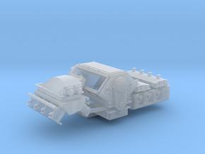 Mountain Motor 1/25 w/alien turbo intake in Smooth Fine Detail Plastic