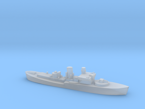 Flower Class corvette 1:3000 GBR WW2 naval in Smoothest Fine Detail Plastic
