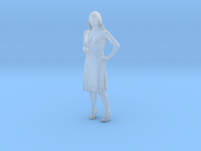 Printle C Femme 138 - 1/48 - wob in Smooth Fine Detail Plastic