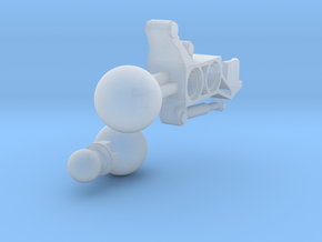 Articulated Mata Arm 1 in Smooth Fine Detail Plastic