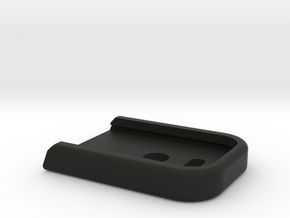 WE/TM Glock17/18 magazine base plate in Black Natural Versatile Plastic