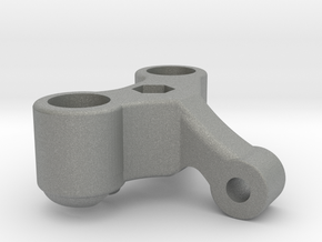 1/12 Scale Left Pillow Ball Steering Knuckle in Gray Professional Plastic