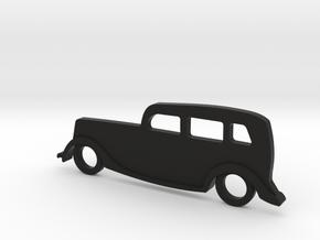 Classic Car Necklace-54 in Black Natural Versatile Plastic
