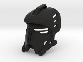 Star Wars-like mask in Black Natural Versatile Plastic