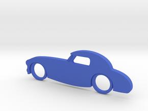 Classic Car Necklace-55 in Blue Processed Versatile Plastic