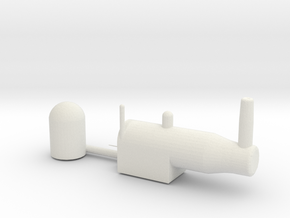 NAVAL BOILER in White Natural Versatile Plastic