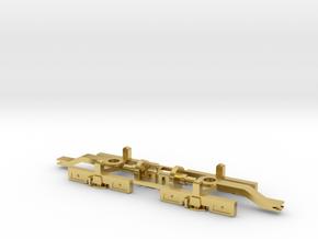 Drehgestell SGP Liliput StLB in Polished Brass