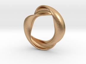 Mobius XIV in Natural Bronze