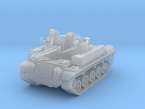 AA Gun M42 Duster Scale: 1:220 in Smooth Fine Detail Plastic