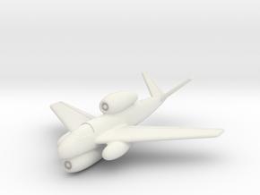 (1:144) Heinkel P 1073.1 in White Natural Versatile Plastic