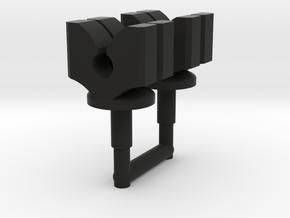 Huffer Strongman Clamps in Black Premium Versatile Plastic