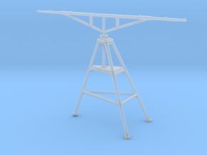 1/100 IJN Yamato Tripod aerial mast 15.5cm turret in Smooth Fine Detail Plastic