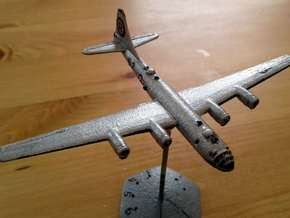 1/400 B29 Superfortress in White Processed Versatile Plastic