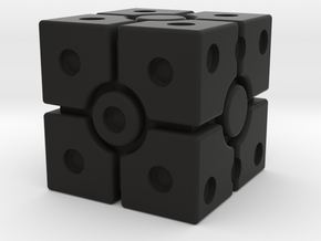 Imperial Scanner Dice in Black Premium Versatile Plastic: Small