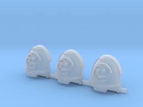 Vorpal Blades Gravus Shoulder Pads R in Smooth Fine Detail Plastic
