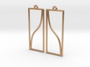 EarringTan.v3.pair.sidebyside in Natural Bronze