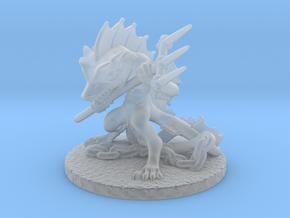 Aqua Warrior in Smooth Fine Detail Plastic