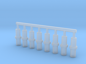 5mm Double-Ended Pegs in Smooth Fine Detail Plastic