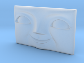 Rectangular Character Face 13mm x 8mm (N) in Smoothest Fine Detail Plastic