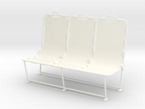 1.10 LAMA BANQUETTE in White Processed Versatile Plastic