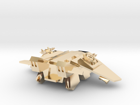 The Gryphon in 14k Gold Plated Brass
