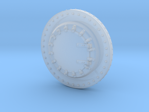 HO Scale .875'' Diameter Smokebox Front in Smoothest Fine Detail Plastic