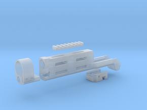 MK 23 SOCOM Tokyo Marui M-LOK handguard 3D print m in Smooth Fine Detail Plastic
