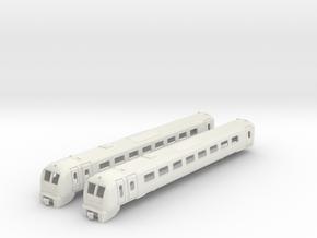 British Rail Class 175 Coradia 00 Gauge Bodyshells in White Natural Versatile Plastic