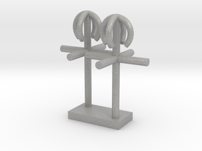 1/96 scale Side antenna in Aluminum