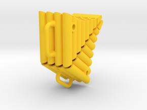THM 00.0030 set of wheel chocks Tamiya truck in Yellow Processed Versatile Plastic