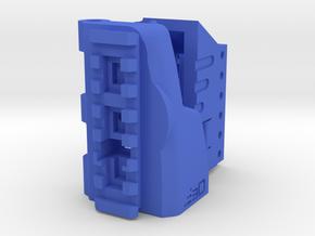 TeleScopix Folding Stock Adapter (Large Kit) in Blue Processed Versatile Plastic