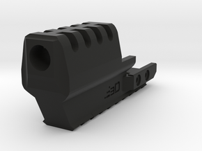 J.W. Frame Mounted Compensator for XDM in Black Natural Versatile Plastic