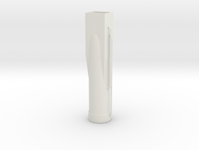 Support-leg-upper in White Natural Versatile Plastic