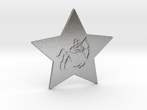 star-sagittarius in Natural Silver