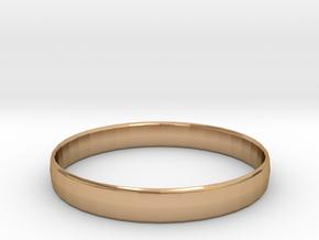 Ima Edgededges Bangle - Bracelet in Polished Bronze: Extra Small