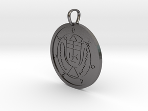 Crocell Medallion in Polished Nickel Steel
