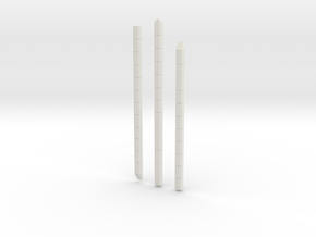 1:48 S-1C Systems Tunnel in White Natural Versatile Plastic
