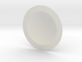 1.5 in White Natural Versatile Plastic