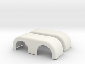 NO TRIM Moebius-compatable in White Natural Versatile Plastic