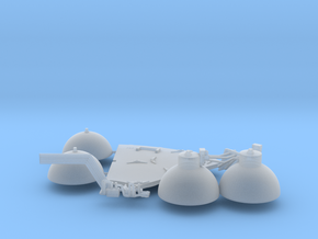 SM oxygen tanks in Smooth Fine Detail Plastic