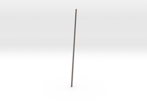 Schooner Zodiac - Main Mast in Polished Bronzed-Silver Steel