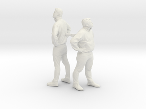 Printle NML Homme 010 - 1/24 - wob in White Natural Versatile Plastic