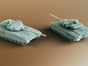 T-14 Armata Scale: 1:200 in Smooth Fine Detail Plastic