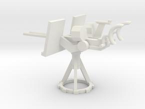 1/48 Scale 20mm Gun Mount Mk24 in White Natural Versatile Plastic