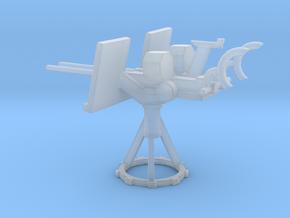 1/87 Scale 20mm Gun Mount Mk24 in Smooth Fine Detail Plastic