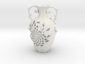 Vase 175019 in White Natural Versatile Plastic