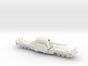 1/144 Eisenbahnbatterie Gneisenau in White Natural Versatile Plastic