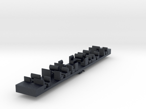 HC2 - VR Harris HT2 Dummy Chassis in Black PA12