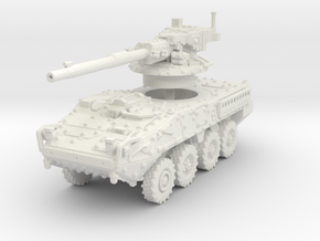 M1128 Stryker scale 1/100 in White Natural Versatile Plastic